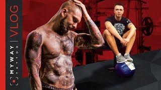 Накачаться/похудеть с татуировкой.