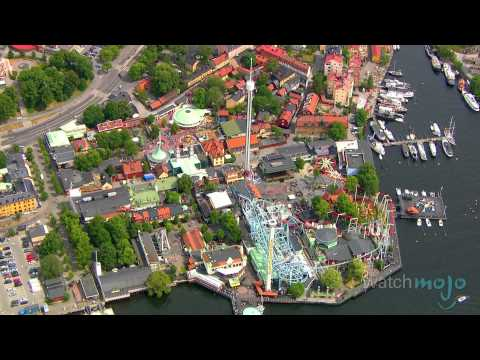 Stockholm, Sweden's Royal Game Park: Djurgarden