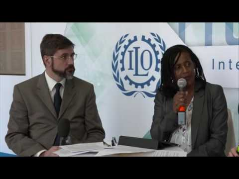 How is the ILO helping to guide the future of work?
