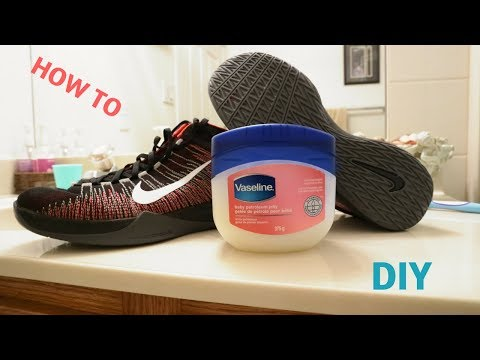 How To Grip Your Basketball Shoes With Vaseline