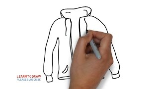 Easy Step For Kids How To Draw a Jacket