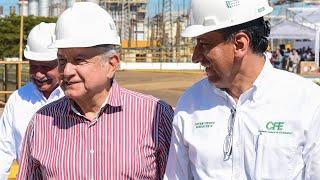 Visita al Complejo Termoeléctrico General Manuel Álvarez Moreno, desde Manzanillo, Colima.