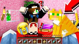 SHE CRIED When I SURPRISED HER WITH A KITTEN... (Minecraft)