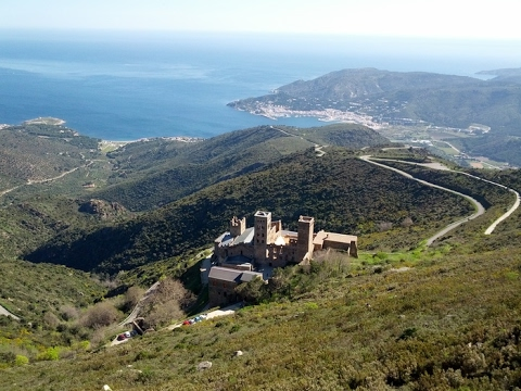 Resultado de imagen de monasterio de San Pedro de Rodas