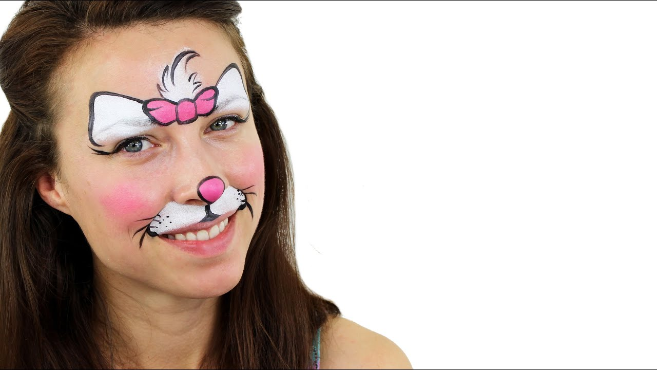Uncategorized Face Paint Cat cute cat face painting tutorial snazaroo youtube