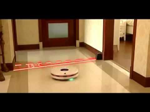 Robot que limpia el piso y alfombras doovi - Aspiradora limpia alfombras ...