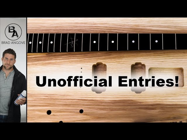 The Great Guitar Build Off | Unofficial Entries!