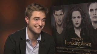 Robert Pattinson on filming sex scenes - Twilight Saga - Breaking Dawn Part 2 interview
