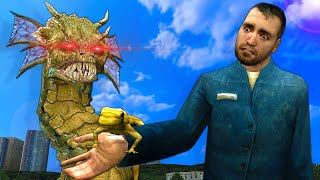 OUR PET TURNED INTO A SNAKE MONSTER IN GMOD! - Garry's Mod Multiplayer Survival