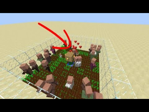how to make villagers breed 1.12