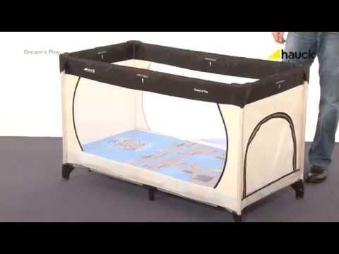 hauck dream 39 n play reisebett matratze tragetasche. Black Bedroom Furniture Sets. Home Design Ideas