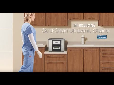 Quickclean Ultrasonic Cleaner By Midmark Youtube