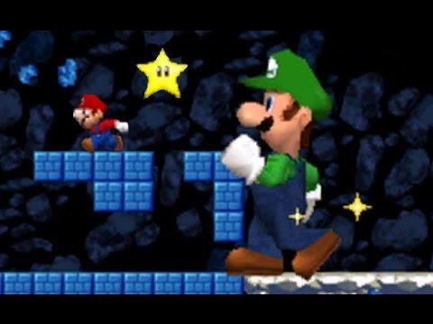 New Super Mario Bros. DS - Mario Vs. Luigi Mode #4 (All Courses)
