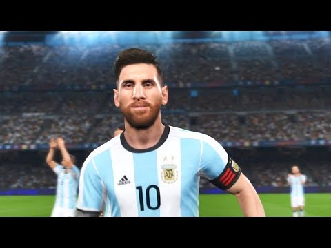 "PES 2018 Lionel Messi Goals & Skills Compilation ""9"""