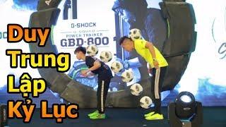 Thử Thách Bóng Đá Ronaldo nhí Duy Trung lập kỷ lục mới giành chức vô địch Việt Nam cùng Đỗ Kim Phúc