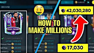 HOW TO MAKE MILLIONS OF COINS EPISODE 4 | BEST SNIPING FILTERS & INVESTMENTS IN FIFA MOBILE 20