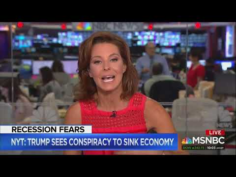 MSNBC Host Stephanie Ruhle: 'It's About Time We Get A Recession'