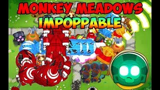 Bloons TD 6 - Monkey Meadows Impoppable Walkthrough