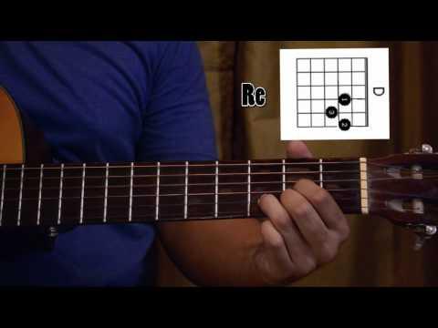 """Tutorial para la cancion """"No volvere"""" (Guitarra)"""