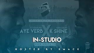 AYEVERB & K-SHINE IN STUDIO SERIES