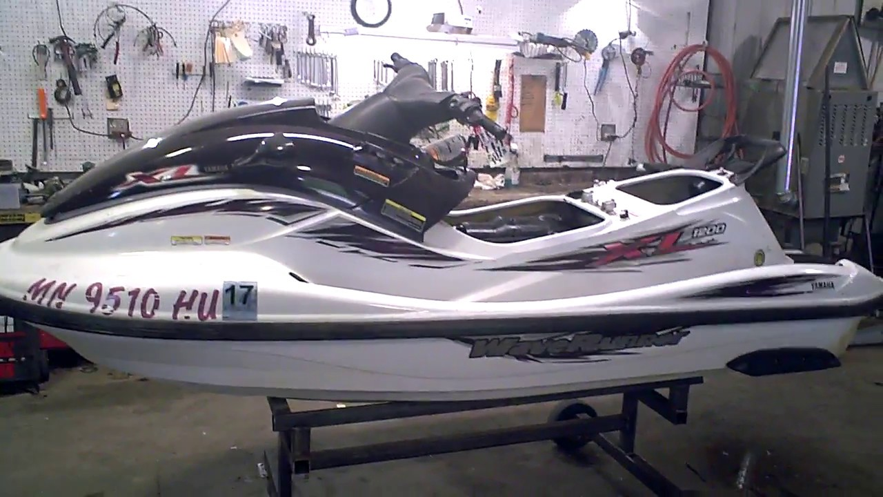 Running 1999 Yamaha XL 1200 Limited Waverunner LOT 2990A