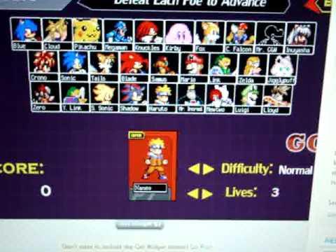 super smash flash 7 game