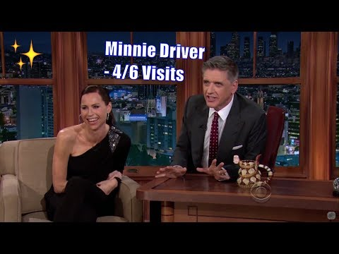 Minnie Driver - They Adore Each other - 4/6 Visits In Chronological Order
