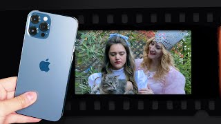 iPhone 12 Pro: Recreating a famous movie scene