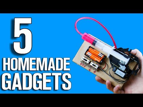 5 Homemade Gadgets