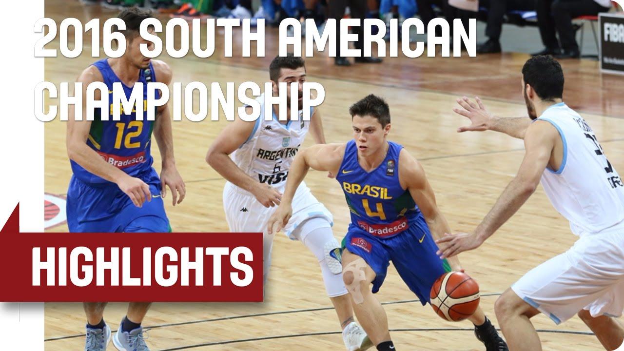 Brazil v Argentina - Game Highlights - Semi-Final - 2016 FIBA South American Championship