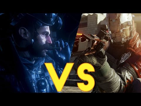 Call of Duty INFINITE WARFARE vs. COD 4 Modern Warfare Remastered! BETTER!? ZOMBIES & Multiplayer!