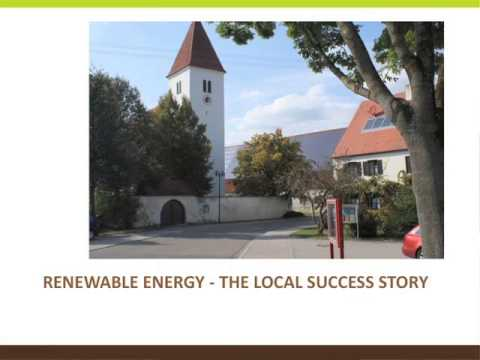 Renewable Energy and Germany: The Local Success Story