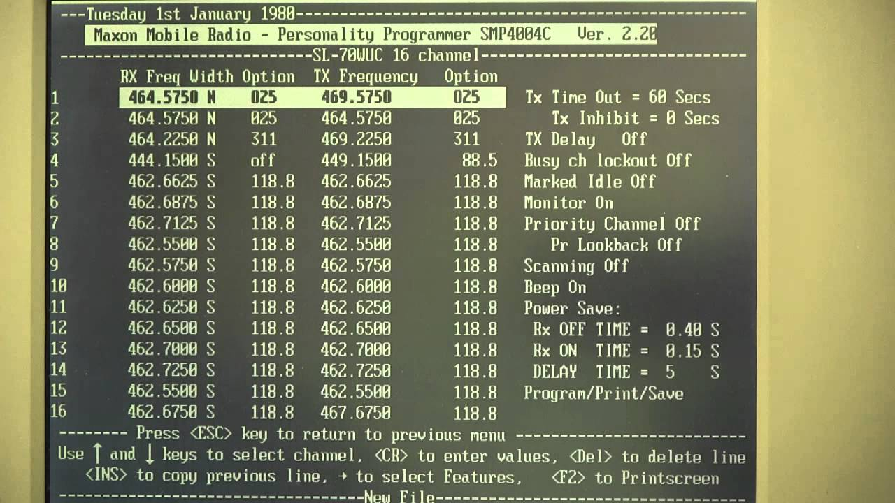 Programming A Ge Ericsson Monogram Series Sl70 Portable