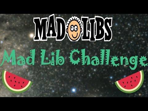 Mad Lib Challenge featuring Jarrod
