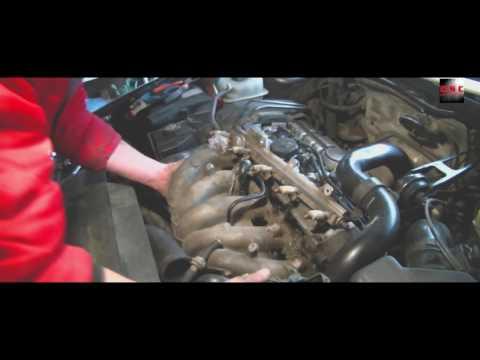 VOLVO S70 T5 замена элементов вентиляции картерных газов