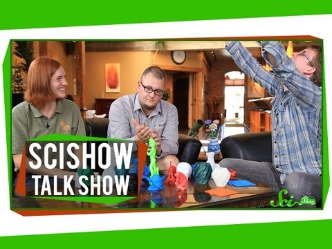 3D Printing and the Northern Walking Stick Insect: SciShow Talk Show #18