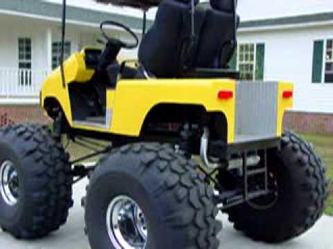 ezgo golf cart wiring diagram 1998 jeep wrangler stereo monster - youtube