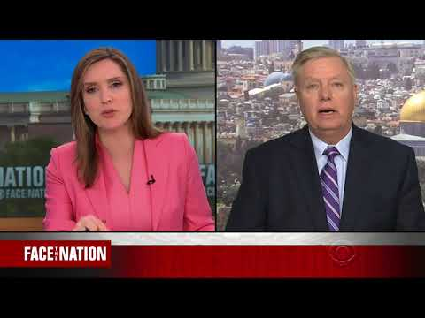 LINDSEY GRAHAM FULL ONE-ON-ONE INTERVIEW WITH MARGARET BRENNAN - FACE THE NATION (5/13/2018)
