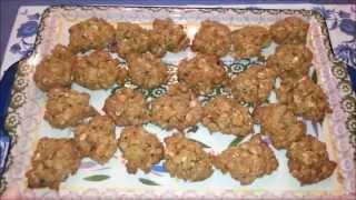 Oatmeal Peanut Butter Drop Cookies