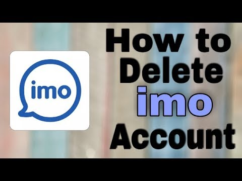 How To Delete - Deactivated Permanently Imo Account