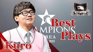 KOO TIGER Kuro Highlight   Best Plays 2015 LCK Spring - Summer