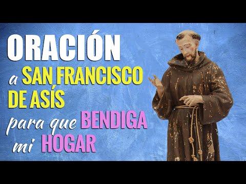 🙏 Oración para que San Francisco BENDIGA MI HOGAR 👪 ¡Y Pasen Cosas BUENAS!