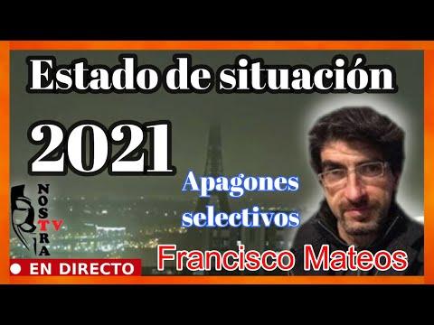 """Estado de situación 2021 """"APAGONES SELECTIVOS SIMULTANEOS"""""""