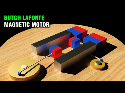 Free Energy, Butch Lafonte Magnetic Motor, Magnetic Experiments
