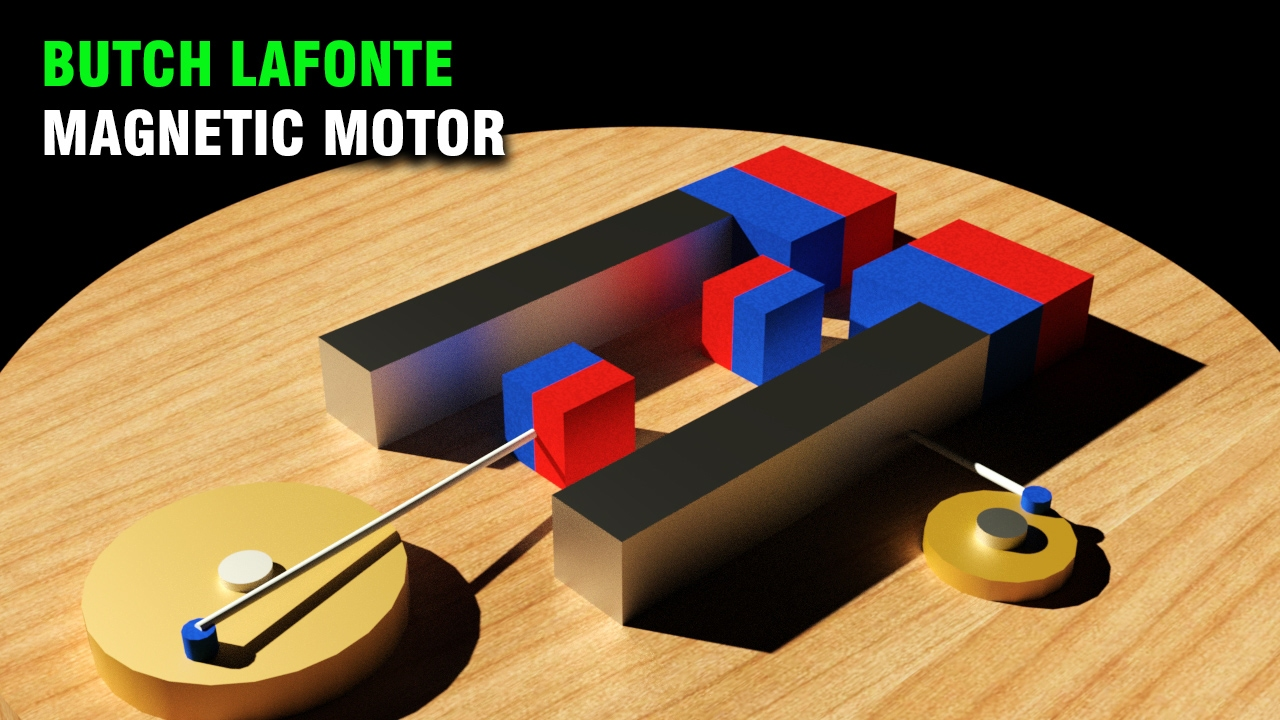 Permanent Magnet Motor >> Free Energy, Butch Lafonte Magnetic Motor, Magnetic Exp... | Doovi