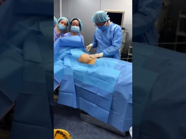 Drtien.com- Cận cảnh phẫu thuật thẩm mỹ hút mỡ bụng tại Hải phòng
