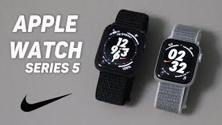 애플워치 시리즈 5 나이키 언박싱! (40mm/44mm, 실버/스페이스그레이 비교) (Apple Watch Series 5 Nike)