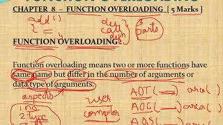 1-Function overloading
