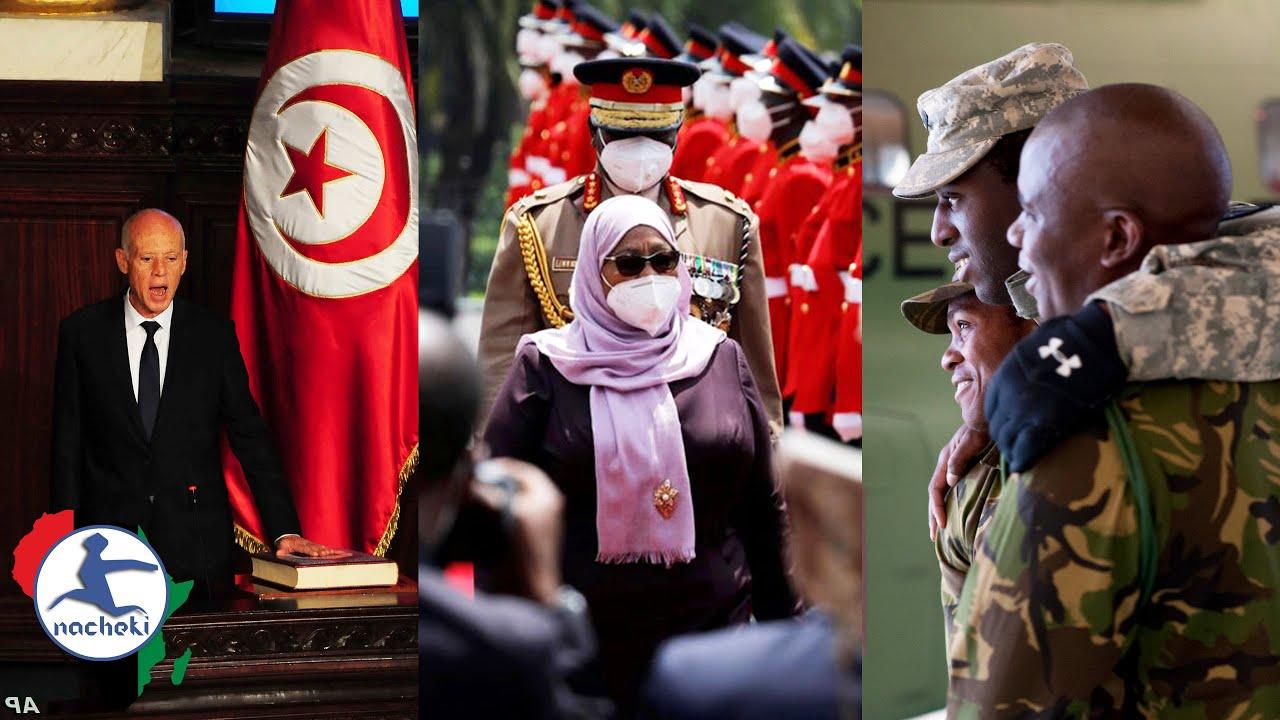 Tunisian President Fires PM, Tanzania President's War on Child Mortality, Botswana Deploys Military