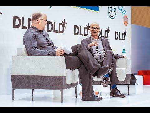 Highlights - Responsive and Responsible AI Leadership (Satya Nadella, Ludwig Siegele) I DLD17